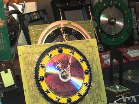 Maryland Couple Makes Beautiful Objects From Recycled Circuit Board