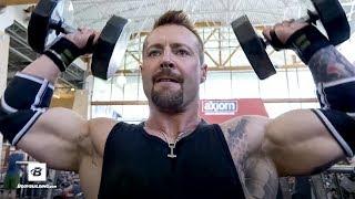 Intense Volumizing Shoulder Workout | Kris Gethin