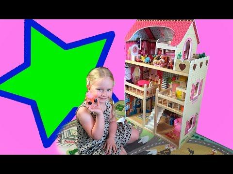 153 модели домиков и мебели для кукол в наличии, цены от 68 руб. Купите домики для. Дом для кукол edufun с комплектом мебели 90 см. Хит. 1 день.