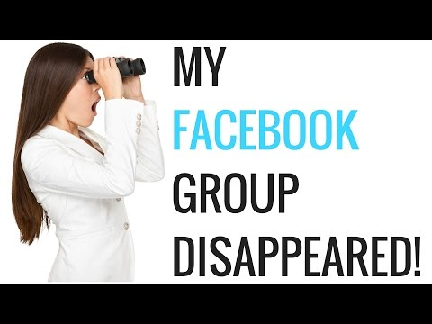 My Facebook Group Disappeared Join The New Group