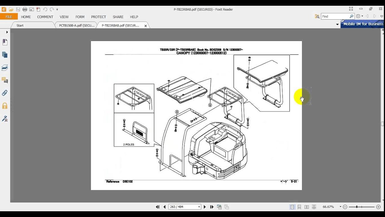 Takeuchi Tb125 Repair Manual A Cdi Ignition Wiring Diagram For 185s Array Excavator Tb23rtb20r Parts Youtube Rh Com