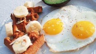 Paleo Waffles™ Eggs And Avocado