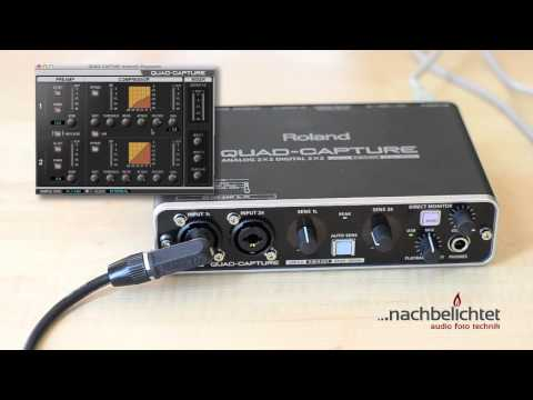 Das beste USB-Audiointerface unter 200€ - Roland UA-55 Quad-Capture vorgestellt