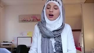 المشتركة السورية في ذا فويس فرنسا منال تغني أغنية ماهر زين  (( الحب يسود )) التي أهداها لوطني سوريا