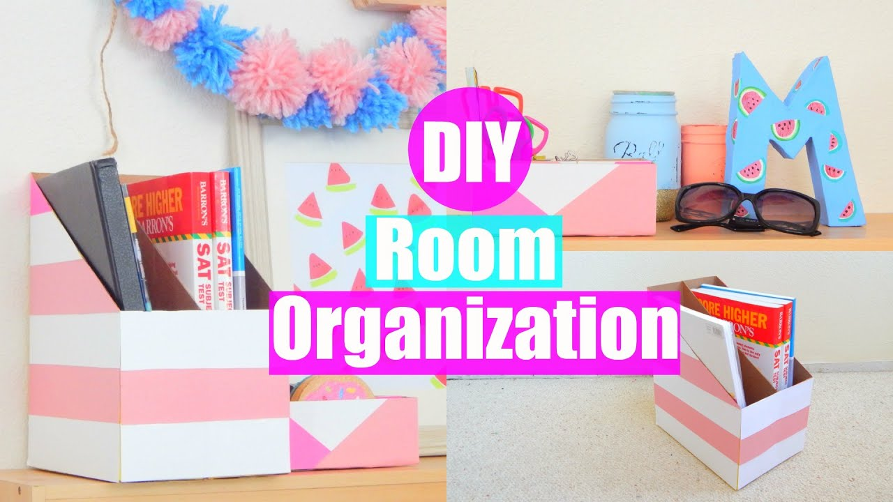 Diy Room Organization And Storage Ideas Using Cereal Boxes