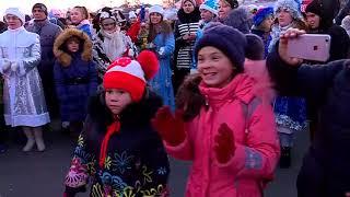Ледовый городок на площади принимает первых гостей