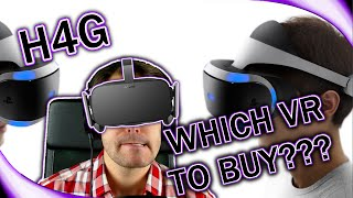 Which VR Headset to Buy? - Playstation VR vs Oculus Rift vs HTC Vive - (1080p 60fps)