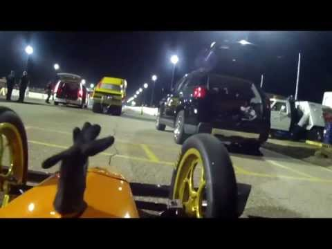 Bruce Litton's Top Fuel Dragster vs Jet Dragster - Tucson 2013