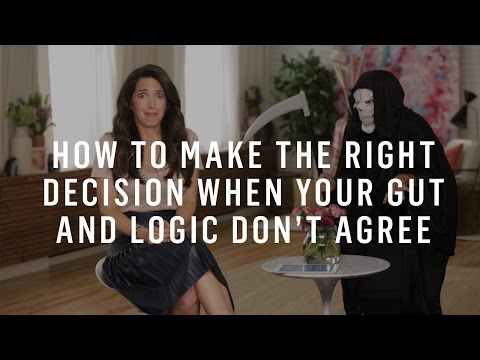 How To Make The Right Decision When Your Gut And Logic Don't Agree