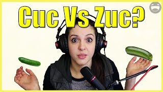 Difference between a cucumber and  a Zucchini???