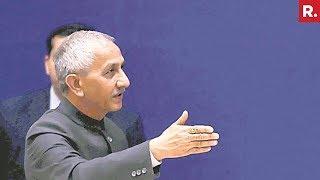 Kashmir's Interlocutor Dineshwar Sharma In Srinagar