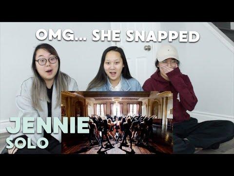 """MV REACTION   JENNIE (제니) """"SOLO"""""""
