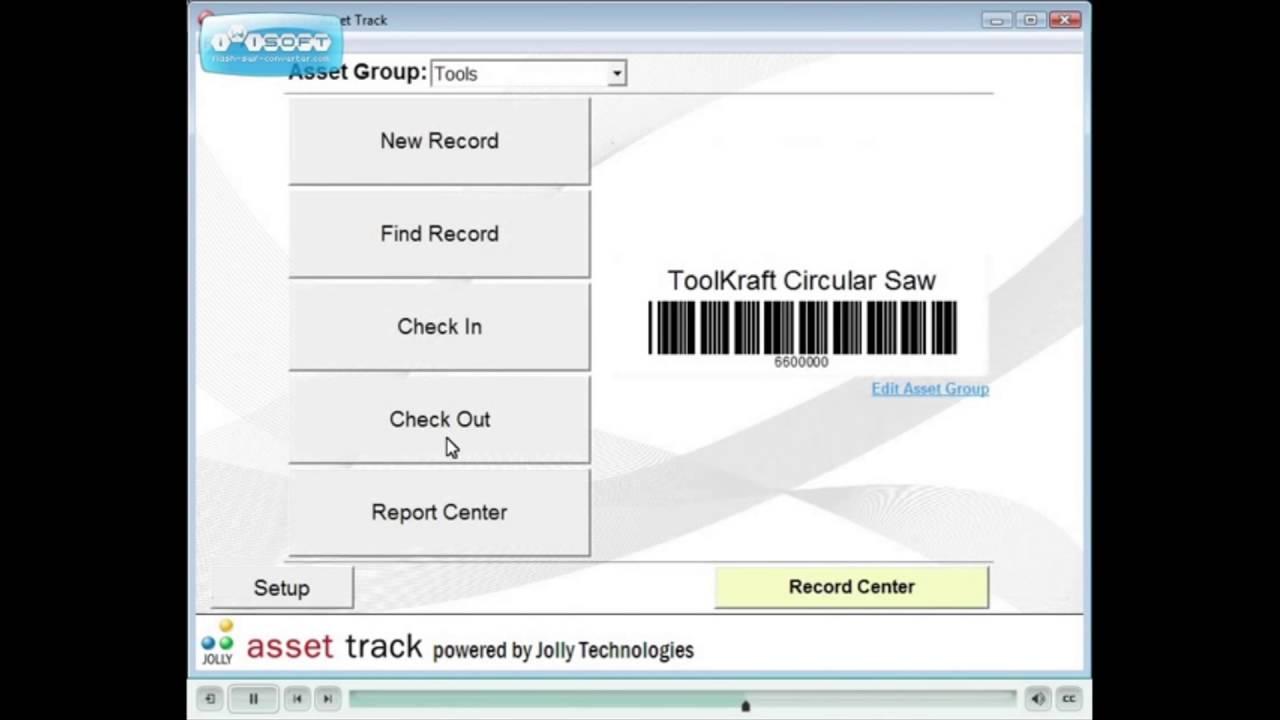it asset tracker software