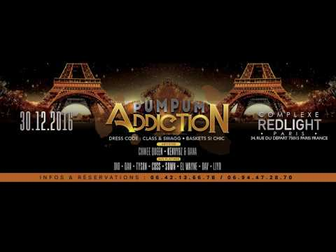 Soirée PUM PUM Addiction - Vendredi 30 décembre 2016 - PARIS - REDLIGHT