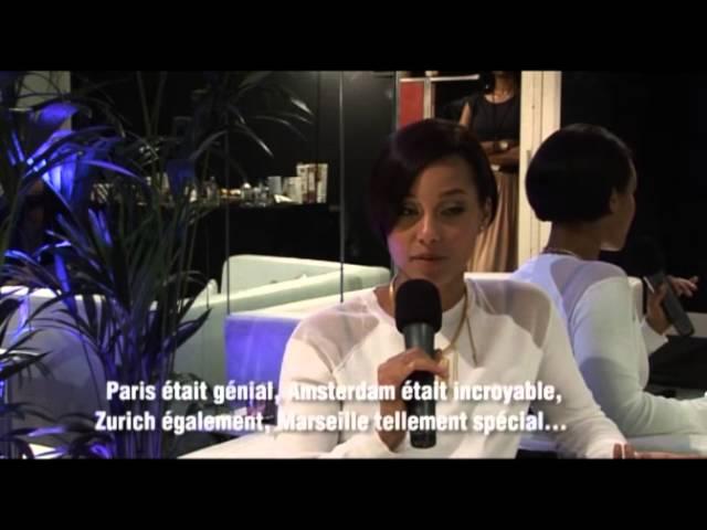 Alicia Keys - Interview in France
