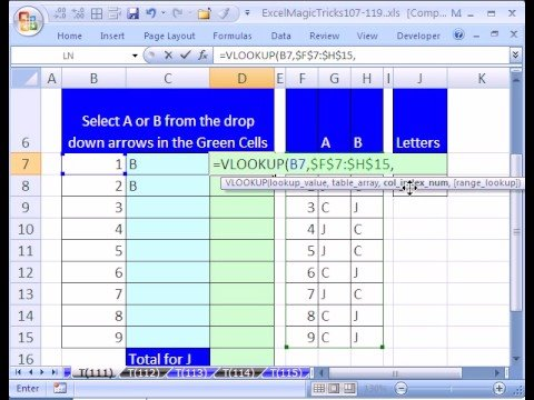 Excel Magic Trick 111 Build A Questionnaire Youtube