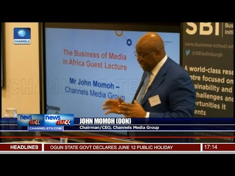 Be More Creative, Channels TV Chairman Challenges Africa Media
