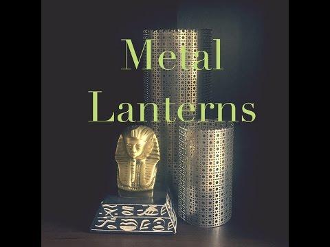 Make It Monday- Metal Lantern