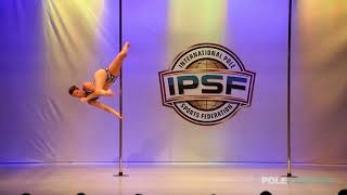 Tine Poullet - IPSF World Pole Championships 2018