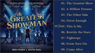 Gambar cover The Greatest Showman Soundtrack - Full Album