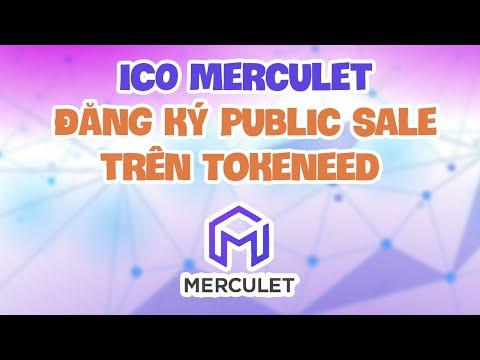 ICO Merculet và hướng dẫn đăng ký public sale trên Tokeneed