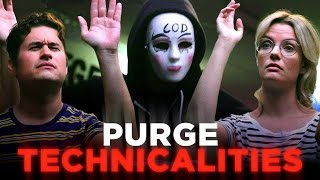 Um, We Have A Few Questions About the Purge (CH Does the Purge) by : CollegeHumor