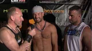 Stars of HustlaBall 2011 - Kyle King & Heath Jordan