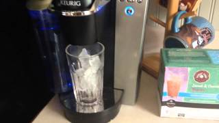 How To Make Brew Ice Coffee In Keurig K-Cup Coffee Brewer Maker