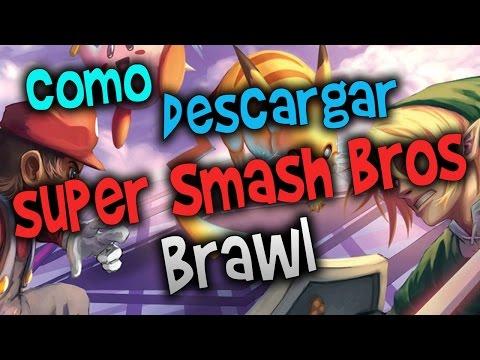 Como Descargar e Instalar Super Smash Bros Brawl Dolphin [2016]