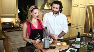 Quick Easy Recipe - Marinated Scallops With Basil Pesto