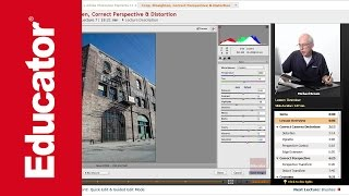 """Crop, Straighten, Correct Perspective & Distortion"" 
