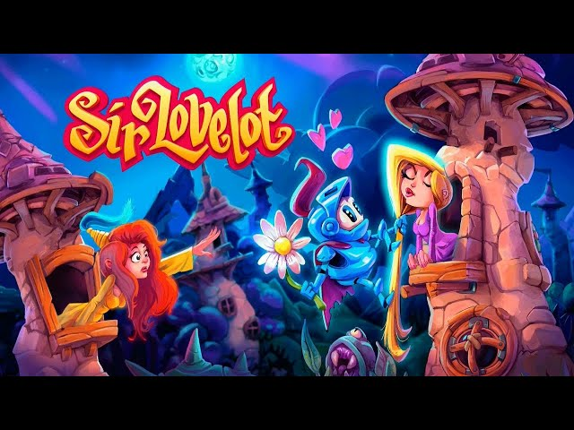Sir Lovelot (PS4/PS5) 100% Platinum/Achievement Run (Required Ducks, Flowers, Diamonds, Lollipops)