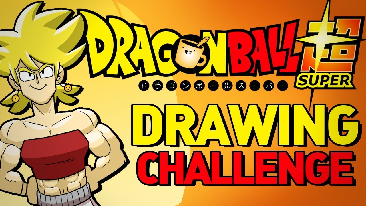how to draw dragon ball super characters