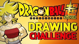 Artists Draw Dragon Ball Super Characters (That They