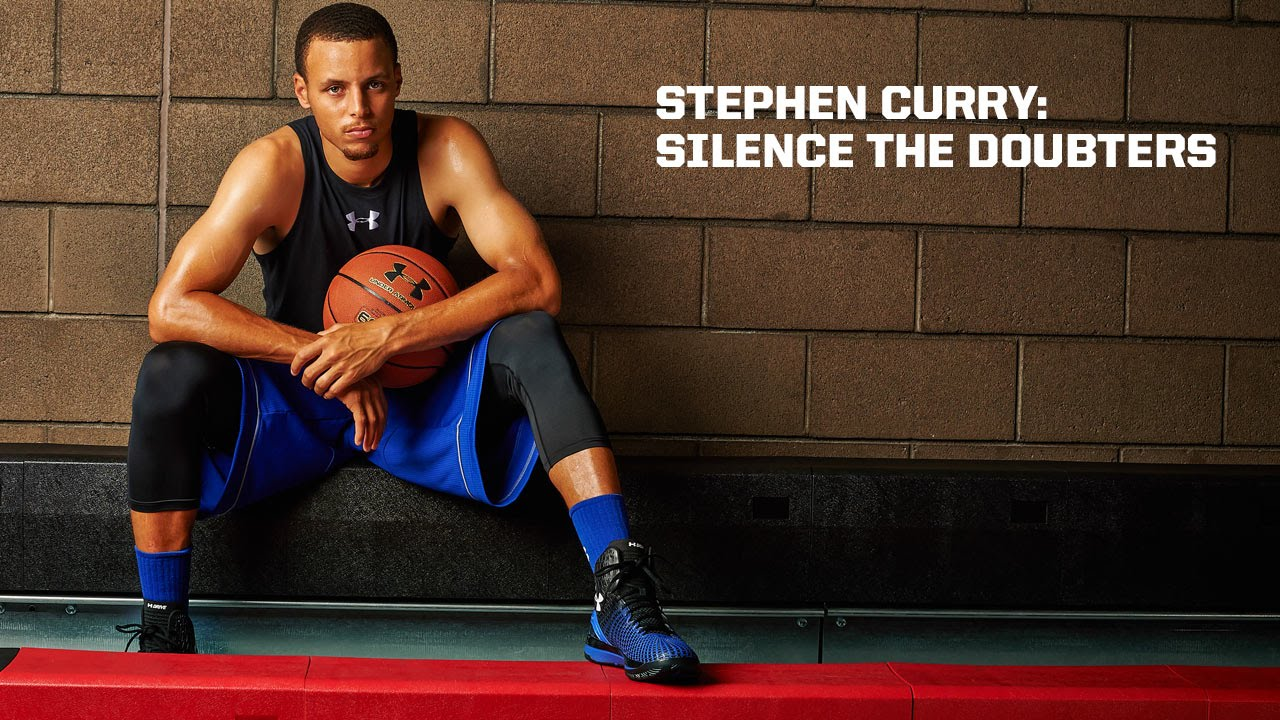 Underdog Quotes Wallpaper Stephen Curry Silence The Doubters Youtube