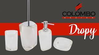 Обзор на аксессуары для ванной комнаты Colombo серии Dropy