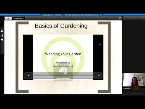 Webinar 2 Gardening Basics & School Garden Guide