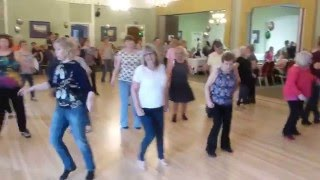 Titanic line dance by Simon Ward - Social Dancing at Strictly linedance Stoke 2016