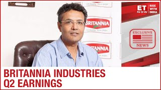 Britannia Industries MD Varun Berry On Steady Q2 Earnings | ET Now Exclusive