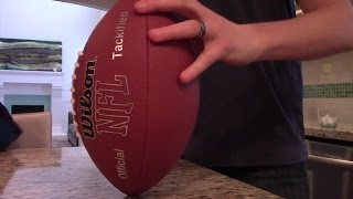 Ever wonder what is inside an American Football? We did so we bought an NFL size football and decided to cut it open. Hope you enjoy finding out what is ...