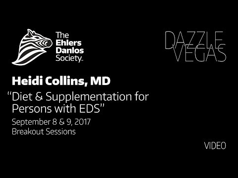 Dr. Heidi Collins Diet and Supplementation for Persons with EDS