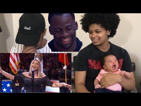 Fergie Performs The U.S. National Anthem REACTION!!