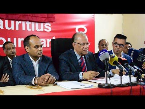 Affaire Sobrinho: Ramgoolam réclame une commission d'enquête sur «le plus gros scandale financier»