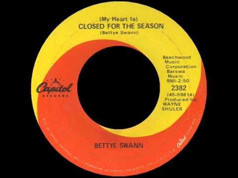 (My Heart Is) Closed For The Season -  Bettye Swann - CAPITOL 238