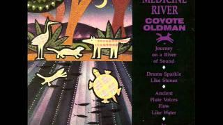 coyote oldman in medicine river
