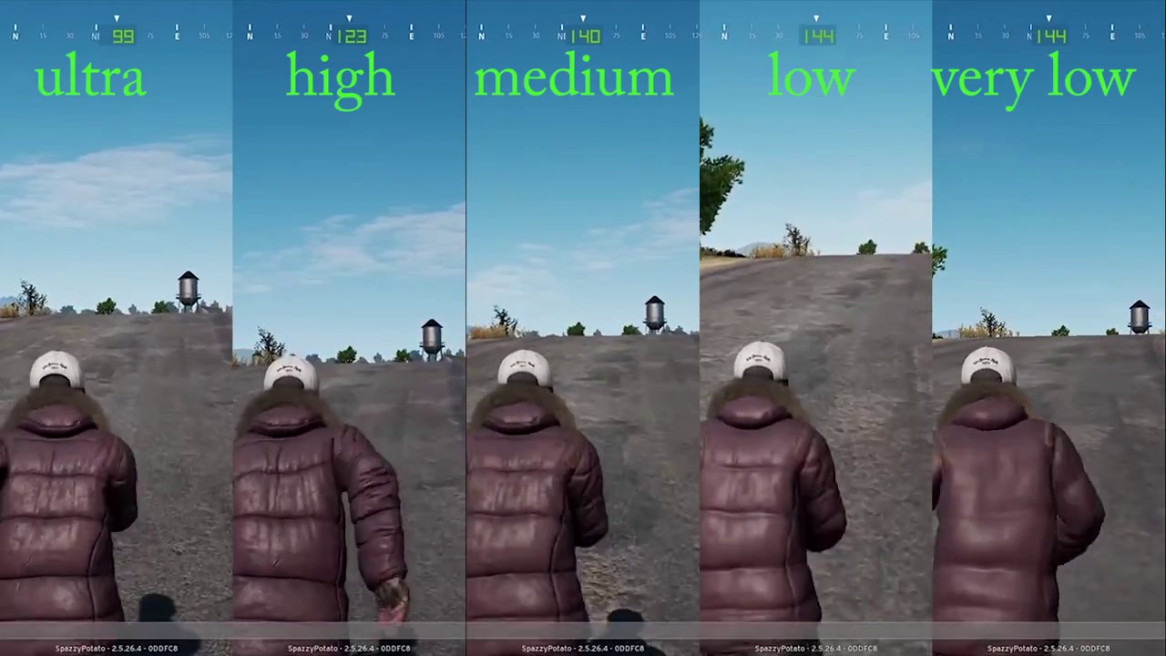 Low Vs Medium Vs High: Playerunknown's BATTLEGROUNDS Benchmarks PUGB