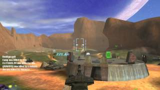 Halo PC: Blood Gulch Multiplayer Gameplay