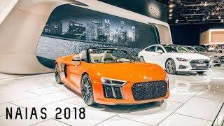 FIRST TIME to the DETROIT AUTO SHOW !!! NAIAS 2018 VLOG