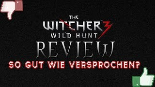 Witcher 3 Wild Hunt - REVIEW / Test / Gameplay (PC / PS4 Ultra Settings 60FPS 1080p) Deutsch