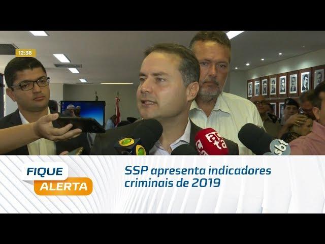 SSP apresenta indicadores criminais de 2019 e confirma redução da violência